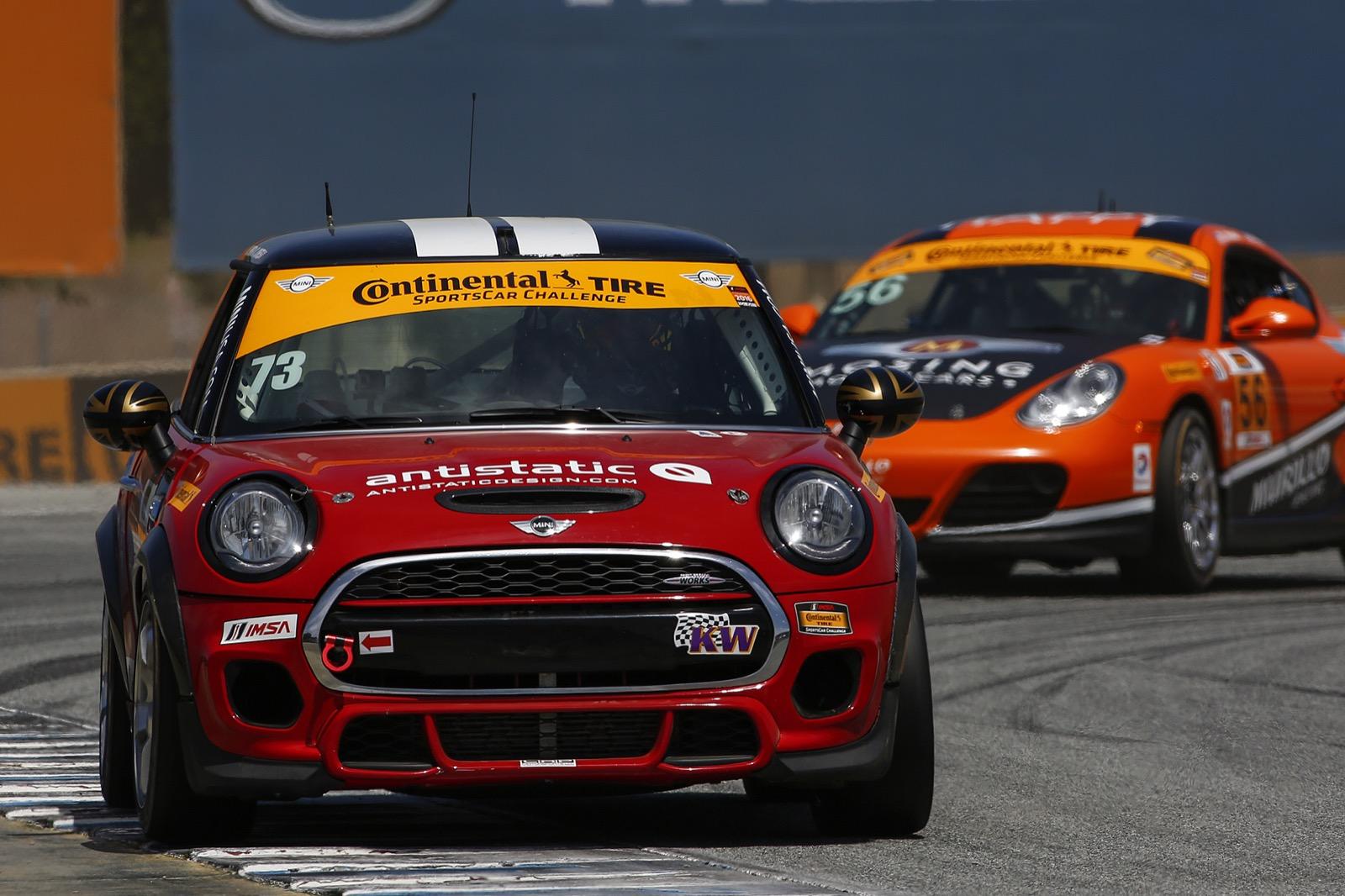 Mazda Raceway Laguna Seca Race Report