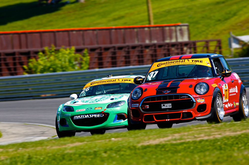 IMSA Continental Tire SportsCar Challenge Lime Rock Park Race Fox Sports Broadcast
