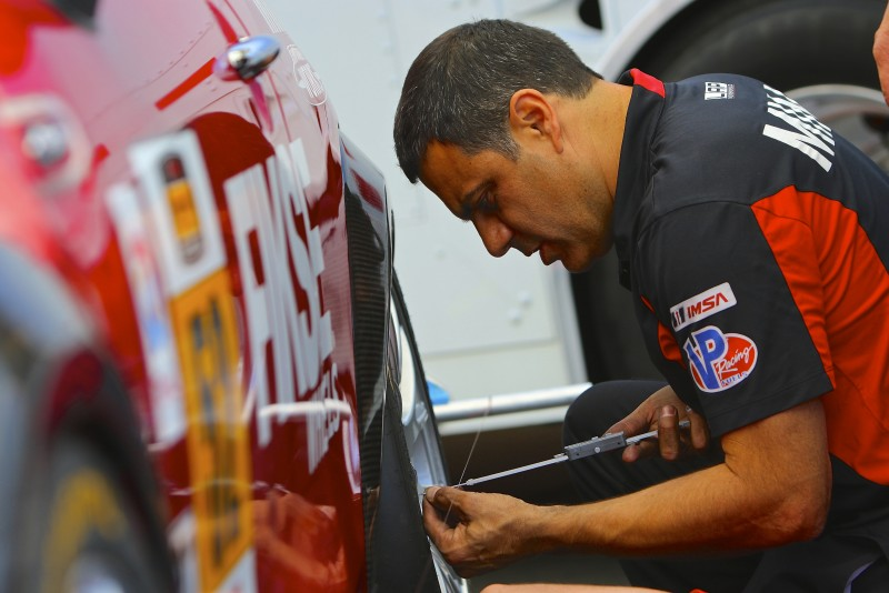Technical Inspection at Laguna Seca 2015