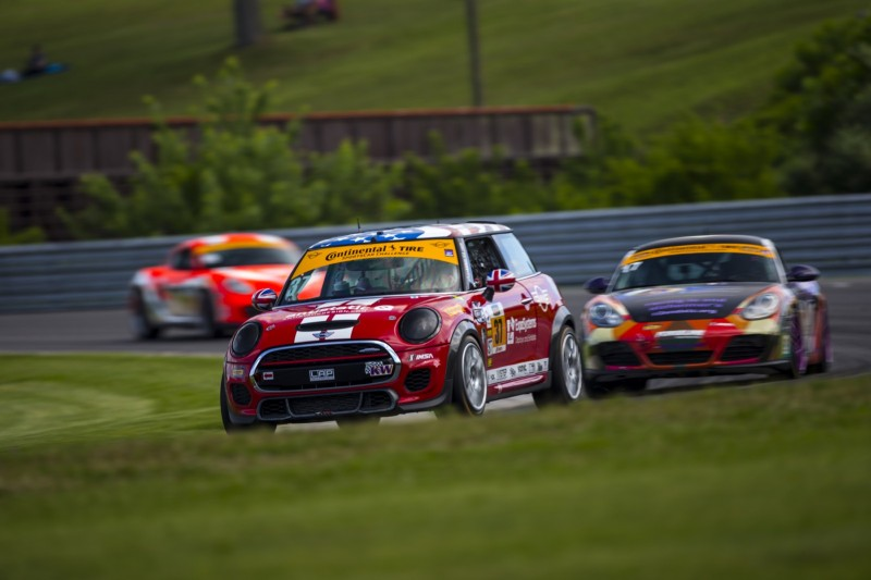 MINI JCW Team Lime Rock Park Race 2017