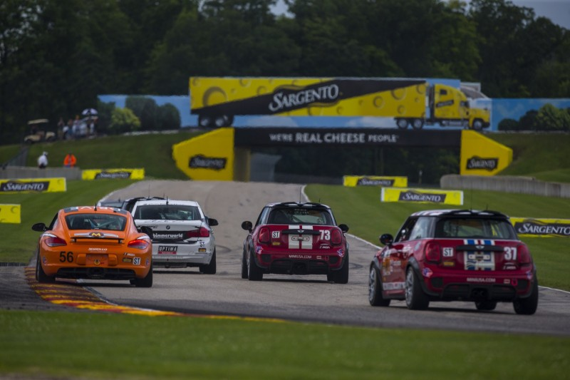 MINI JCW Team Road America 120 Race 2017