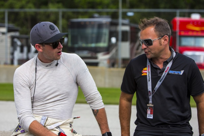 MINI JCW Team Driver James Vance at Road America 120 Race 2017