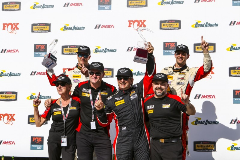 MINI JCW Wins 1st place and Championship at Road Atlanta