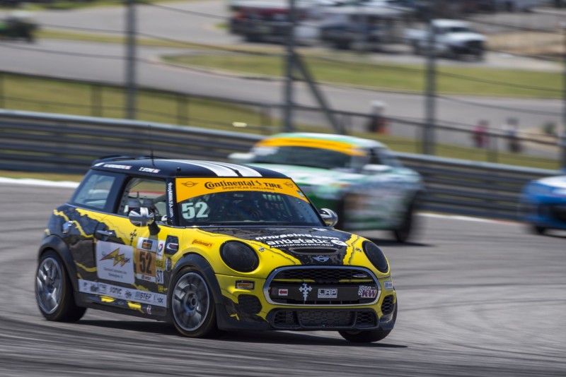 MINI JCW Team 2017 COTA Race