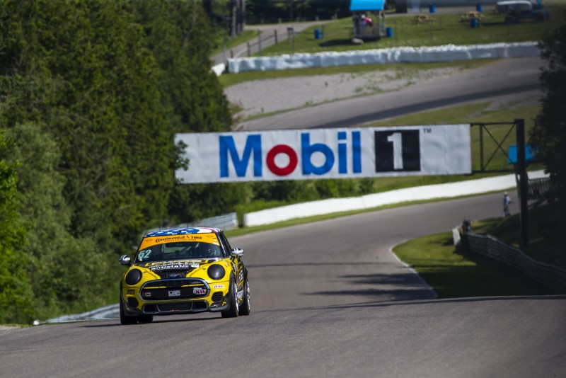 MINI JCW Team 2017 Canadian Tire Motorsport Park Race