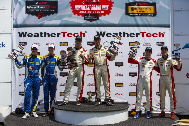 MINI JCW team finishes 1st and 3rd at Lime Rock