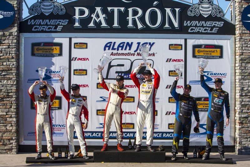 MINI JCW Team wins at Sebring for the Alan Jay Automotive Network 120