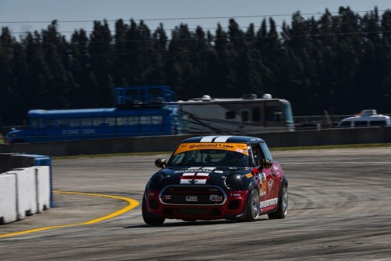 MINI JCW Team 2017 Sebring Race