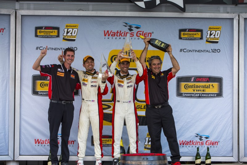 MINI JCW Team wins 2017 Continental Tire 120 from Watkins Glen Race
