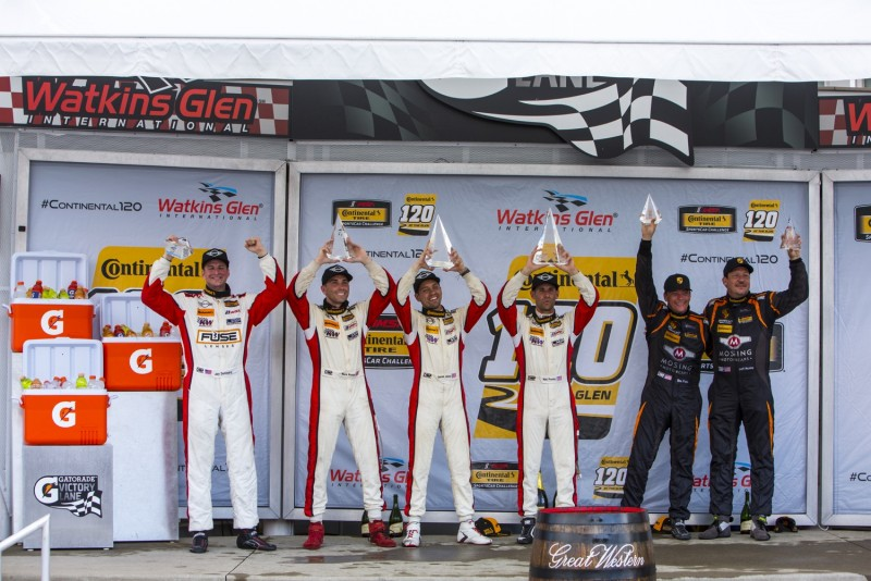 MINI JCW Team wins 2017 Continental Tire 120 from Watkins Glen Race with 1-2 finish!