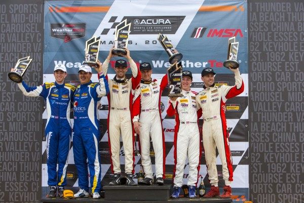 MINI JCW Team Wins in Mid-Ohio Debut