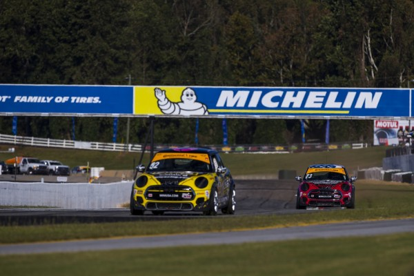 MINI JCW Team Closes Out Second Full Season in the Continental Tire SportsCar Challenge Series