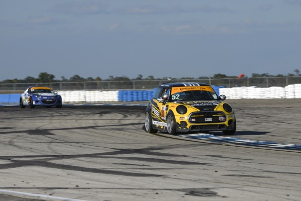 New Partnerships for MINI JCW Team driver Dr. J. Salinsky